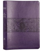 TPT New Testament Large Print Violet (Black Letter Edition) (With Psalms, Proverbs And The Song Of Songs) Imitation Leather