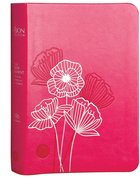 The Passion Translation Nt With Psalms, Proverbs And Song Of Songs (2020 Edn) Fuscia Pink Compact image