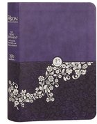 The Passion Translation Nt With Psalms, Proverbs Nad Song Of Songs (2020 Edn) Purple Compact image