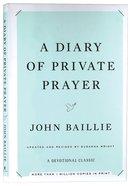 A Diary of Private Prayer (& 2014) Hardback