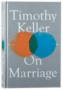 On Marriage Hardback