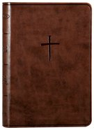 NKJV Compact Bible Brown (Red Letter Edition) Imitation Leather