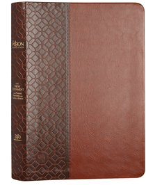 Product: The Passion Translation Nt With Psalms, Proverbs And Song Of Songs (2020 Edn) Brown Large Print Image
