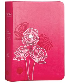 Product: The Passion Translation New Testament With Psalms Proverbs And Song Of Songs (2020 Edn) Compact Fuscia Pink Faux Leather Image