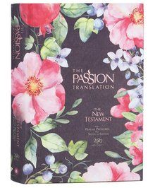 Product: The Passion Translation New Testament With Psalms Proverbs And Song Of Songs (2020 Edn) Berry Blossom Hb Image