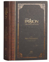 Product: The Passion Translation New Testament With Psalms Proverbs And Song Of Songs (2020 Edn) Espresso Hb Image