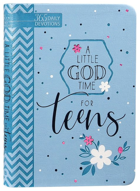 Product: A Little God Time For Teens (Faux) Image
