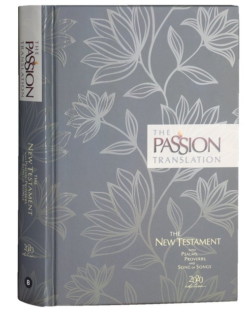 Product: The Passion Transaltion New Testament With Psalms Proverbs And Song Of Songs (2020 Edn) Floral Hb Image