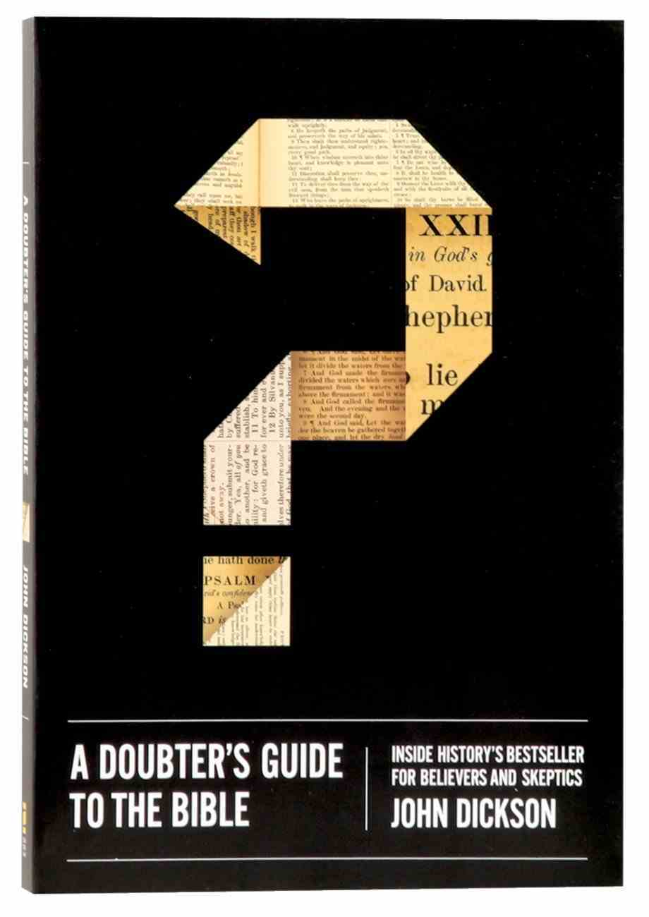 John Dickson Doubter's Guide 3-Pack (3 Vols) Pack