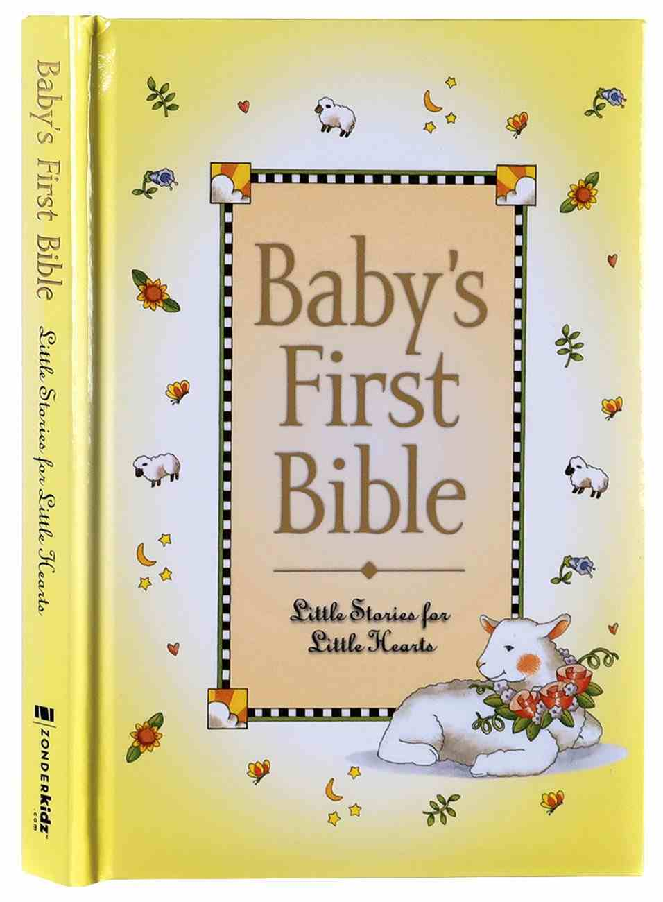 Baby's First Bible Hardback