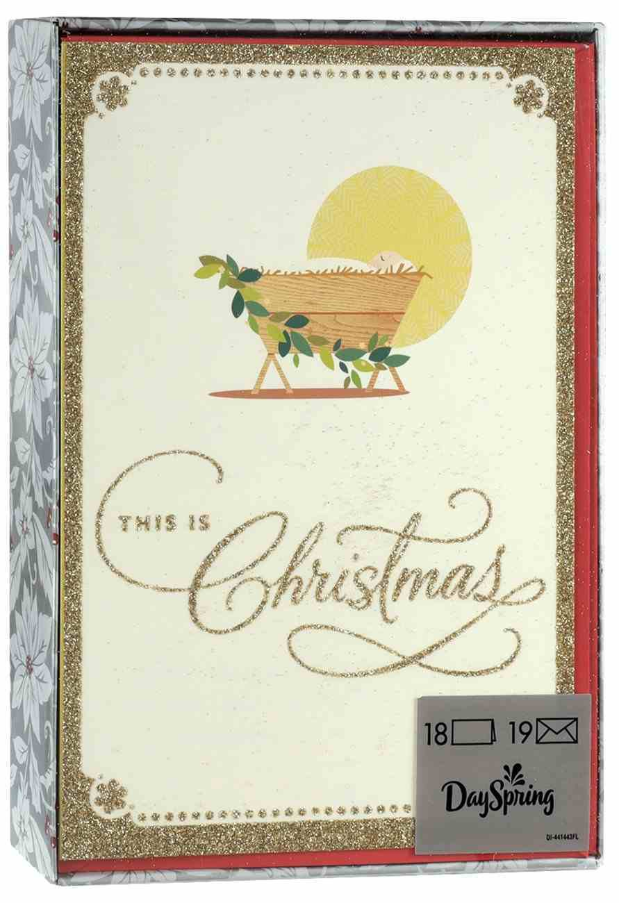Christmas Boxed Cards: This is Christmas (Isaiah 9:6 Kjv) Box
