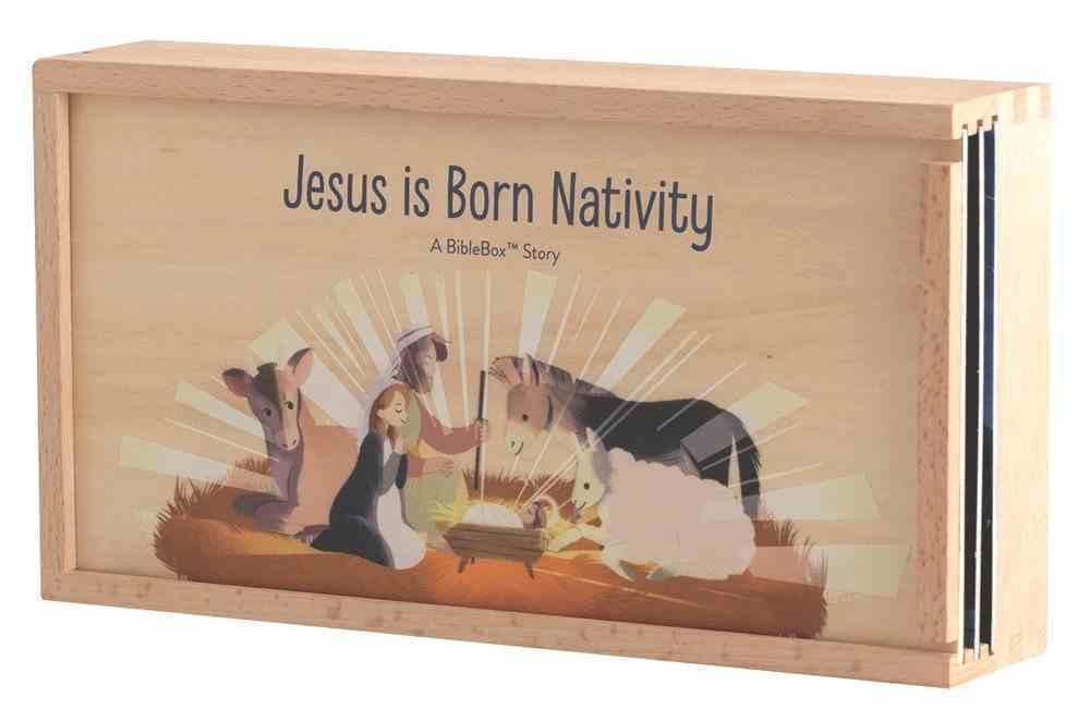 Jesus is Born Bible Box Nativity Box