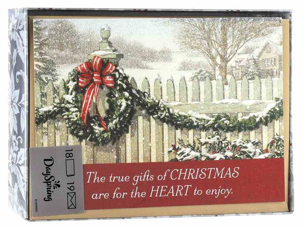 Christmas Boxed Cards: The True Gifts of Christmas (2 Cor 9:15 Niv) Stationery