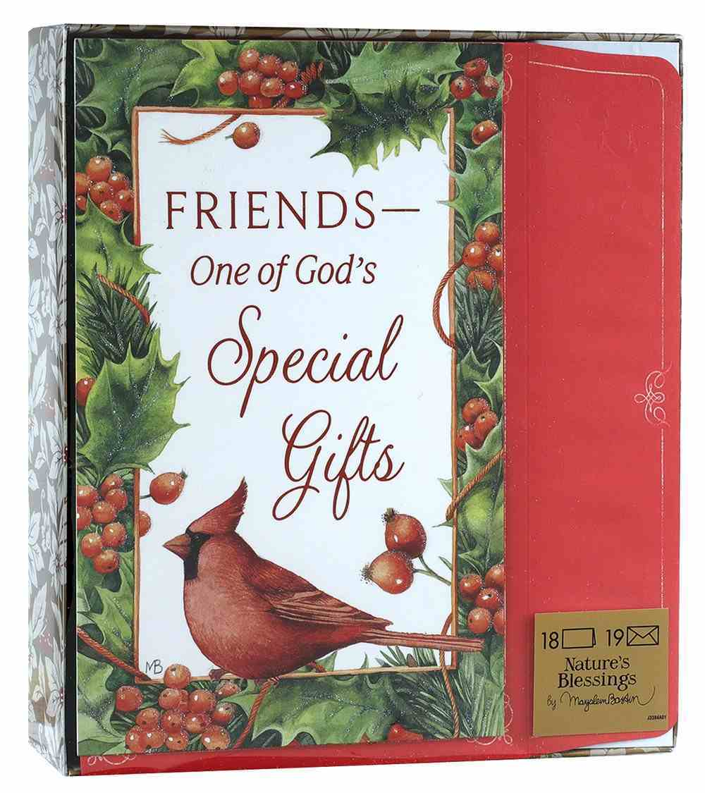 Christmas Boxed Cards: Friends- God's Special Gift (Phil 1:7 Nlt) Stationery
