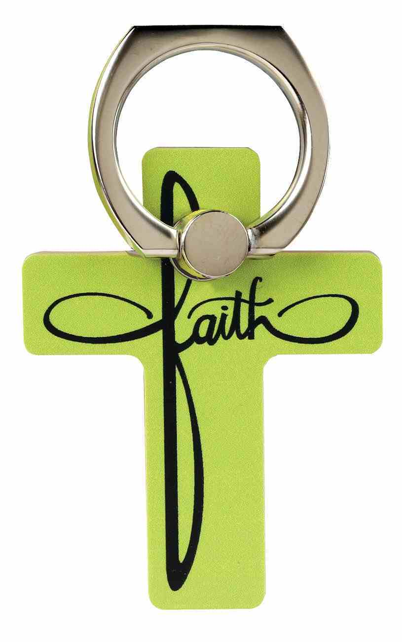 Mobile Phone Cross Ring Holder/Stand: Faith Undefined