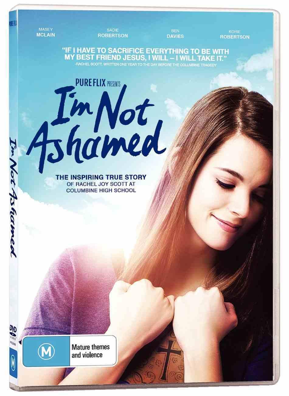 I'm Not Ashamed DVD