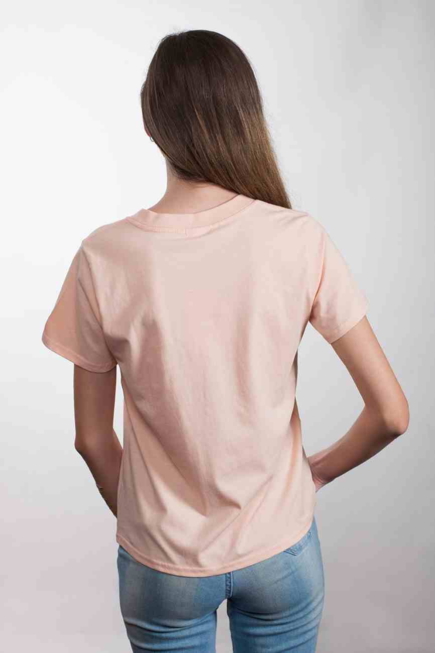 Womens Cube Tee: Be the Light, Large, Pale Pink With Black Metallic Print (Abide T-shirt Apparel Series) Soft Goods