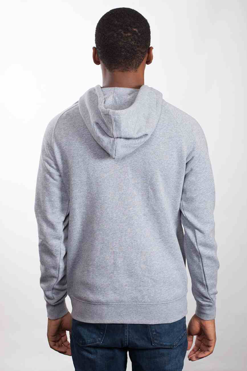 Supply Hood: Forgiven, Medium, Grey Marle With Black Print (Abide Hoodie Apparel Series) Soft Goods