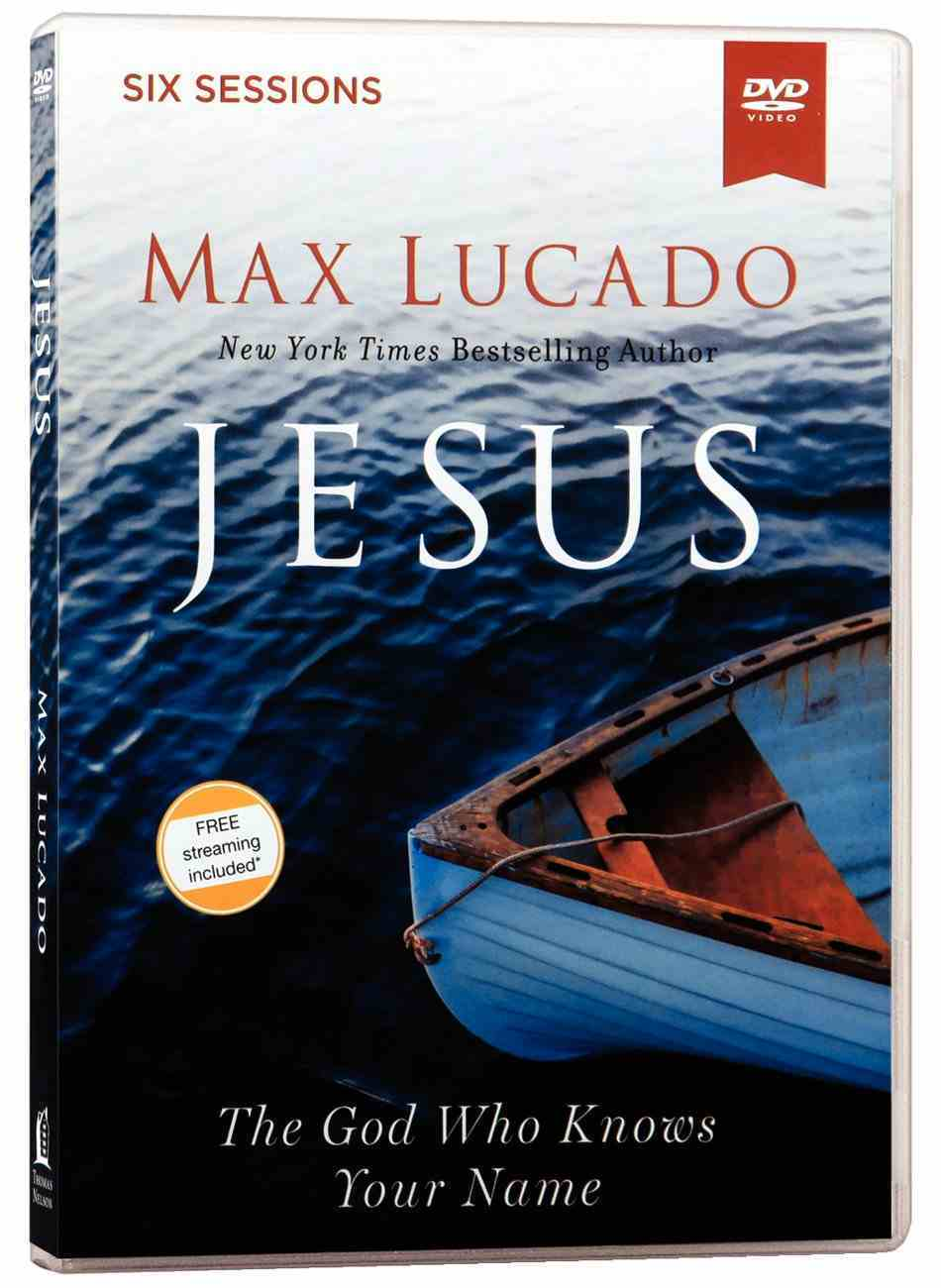 Jesus: The God Who Knows Your Name (All Region, Ntsc, Closed Caption) (Video Study) DVD
