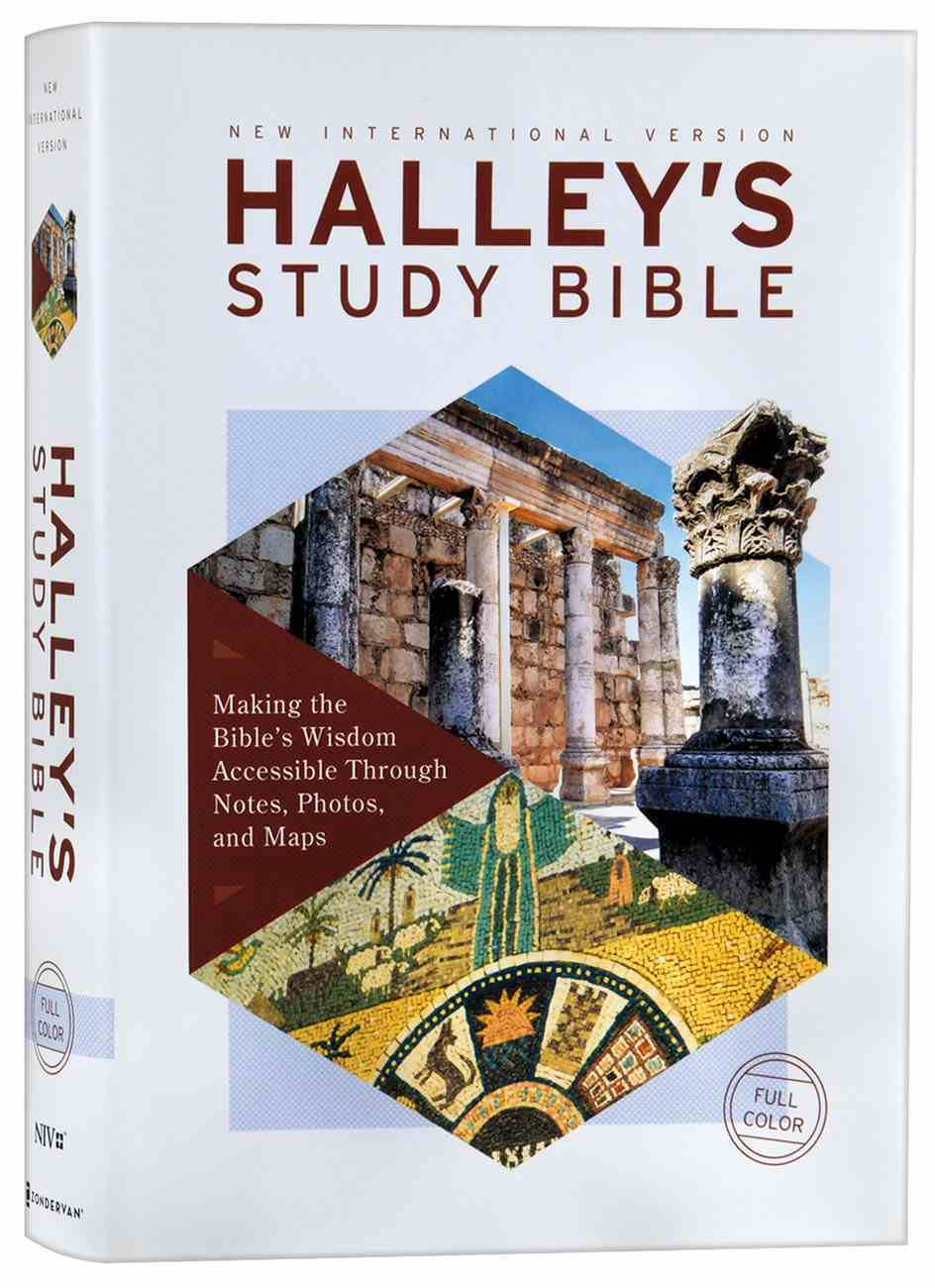 NIV Halley's Study Bible (Red Letter Edition) Hardback