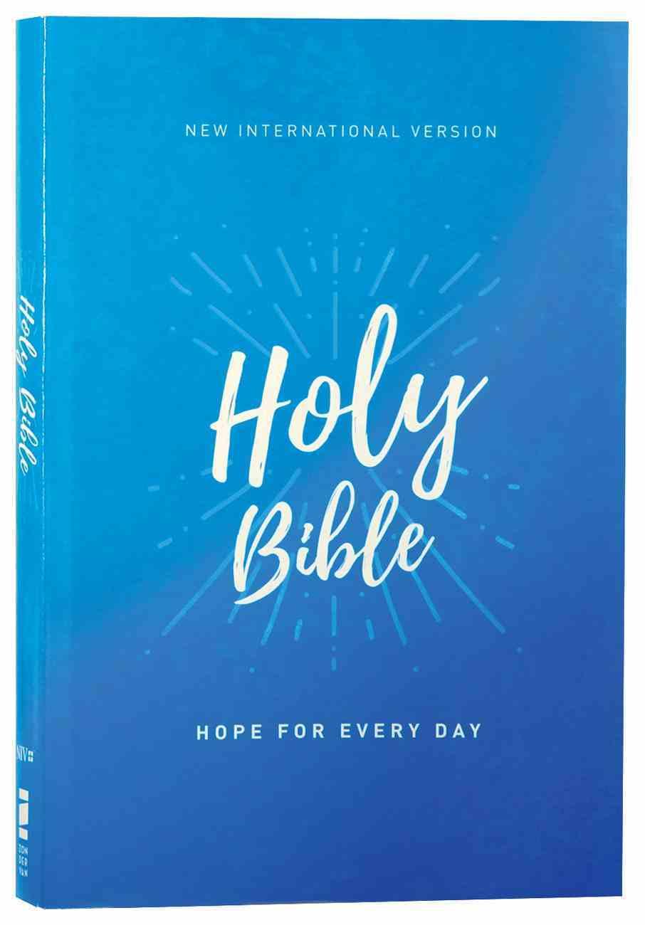 NIV Holy Bible Economy Comfort Print Edition Paperback