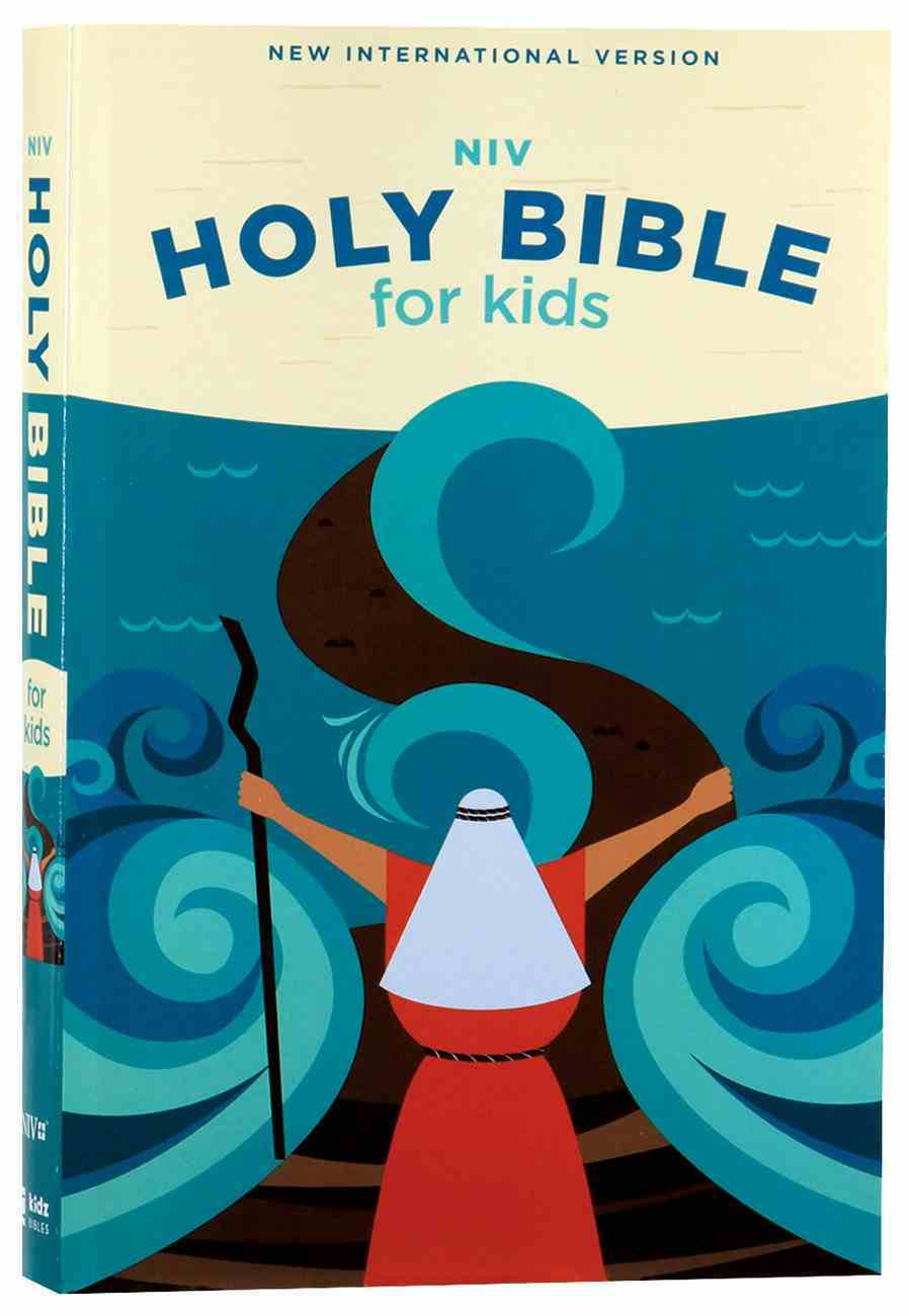 NIV Holy Bible For Kids Economy Edition (Comfort Print) Paperback