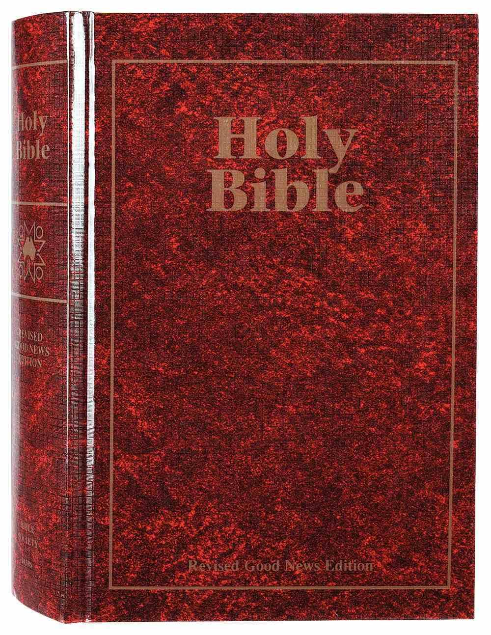 GNB Gnt Ministry Bible Burgundy (Black Letter) Hardback