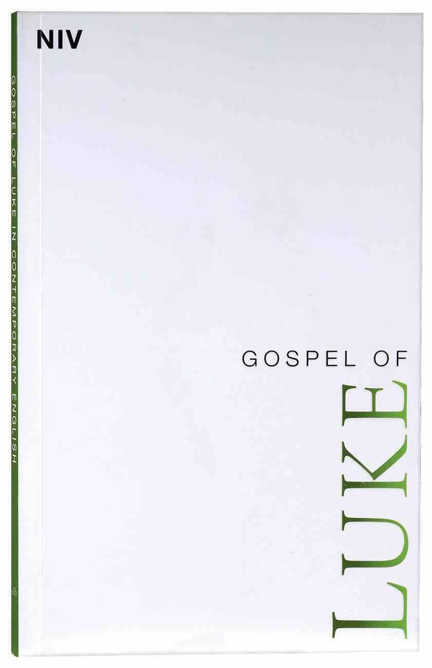 NIV Gospel of Luke Paperback
