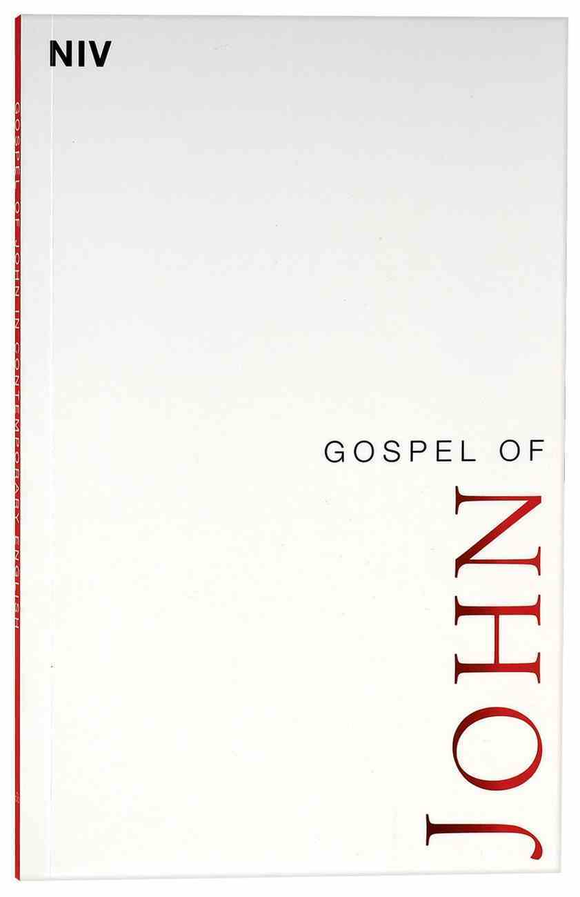 NIV Gospel of John Paperback