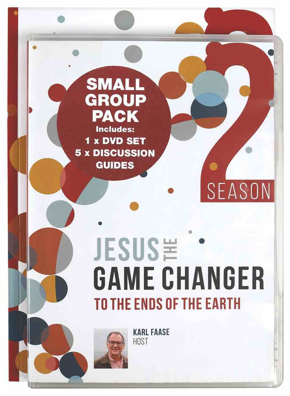 Jesus the Game Changer Season Two: To the Ends of the Earth (Small Group Pack) Pack