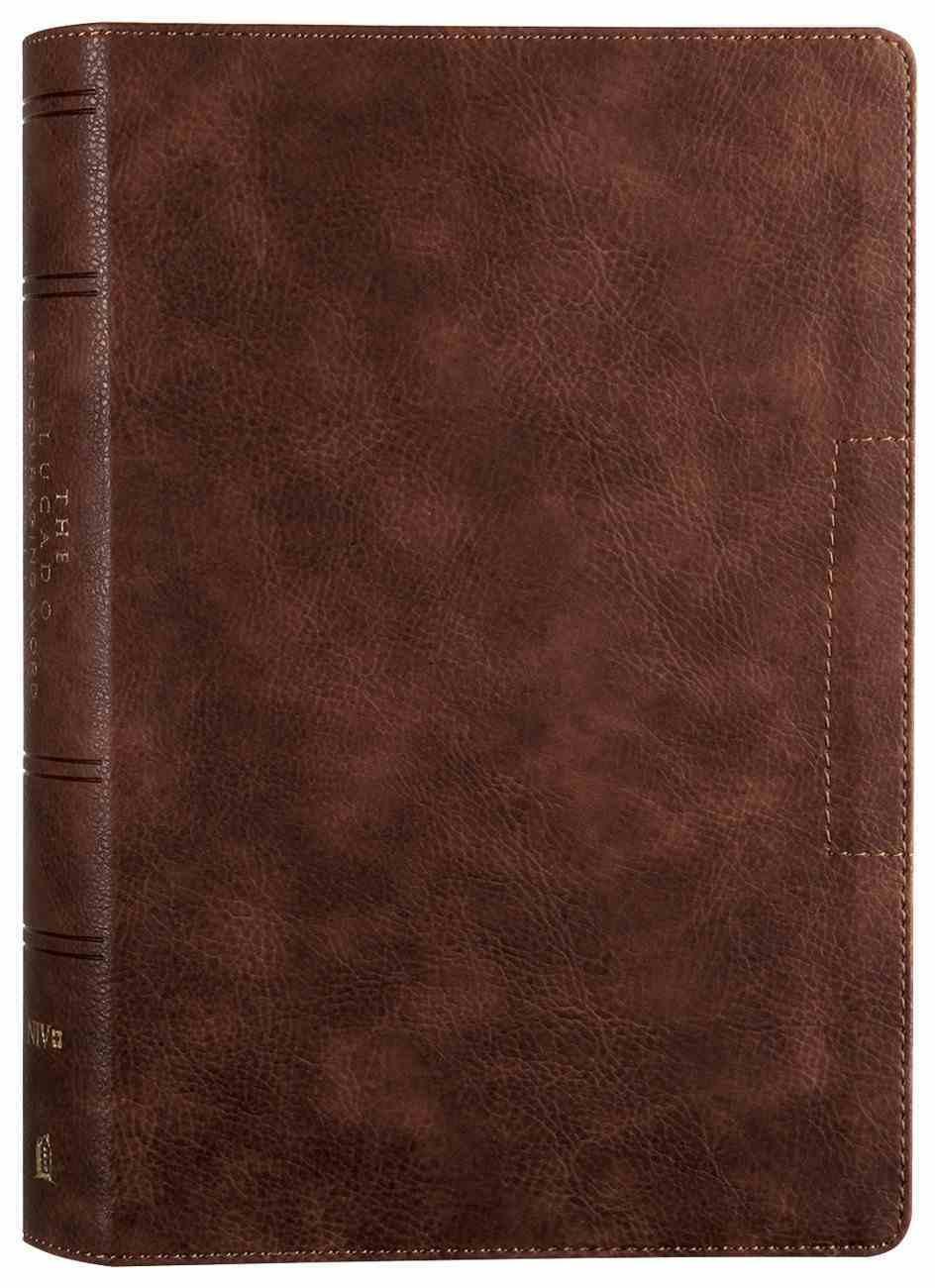 NIV Lucado Encouraging Word Bible Brown Premium Imitation Leather