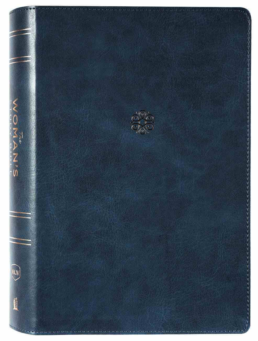 NKJV the Woman's Study Bible Blue Premium Imitation Leather