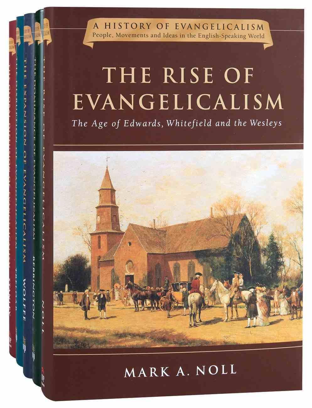 History of Evangelicalism Series 5-Pack (5 Vols) (History Of Evangelicalism Series) Hardback
