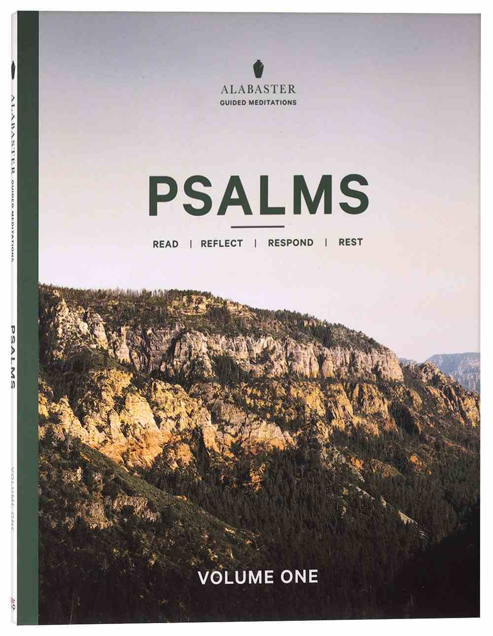NLT Psalms 1-72 (Alabaster Guided Meditations Series) (Alabaster Guided Meditations Series) Paperback
