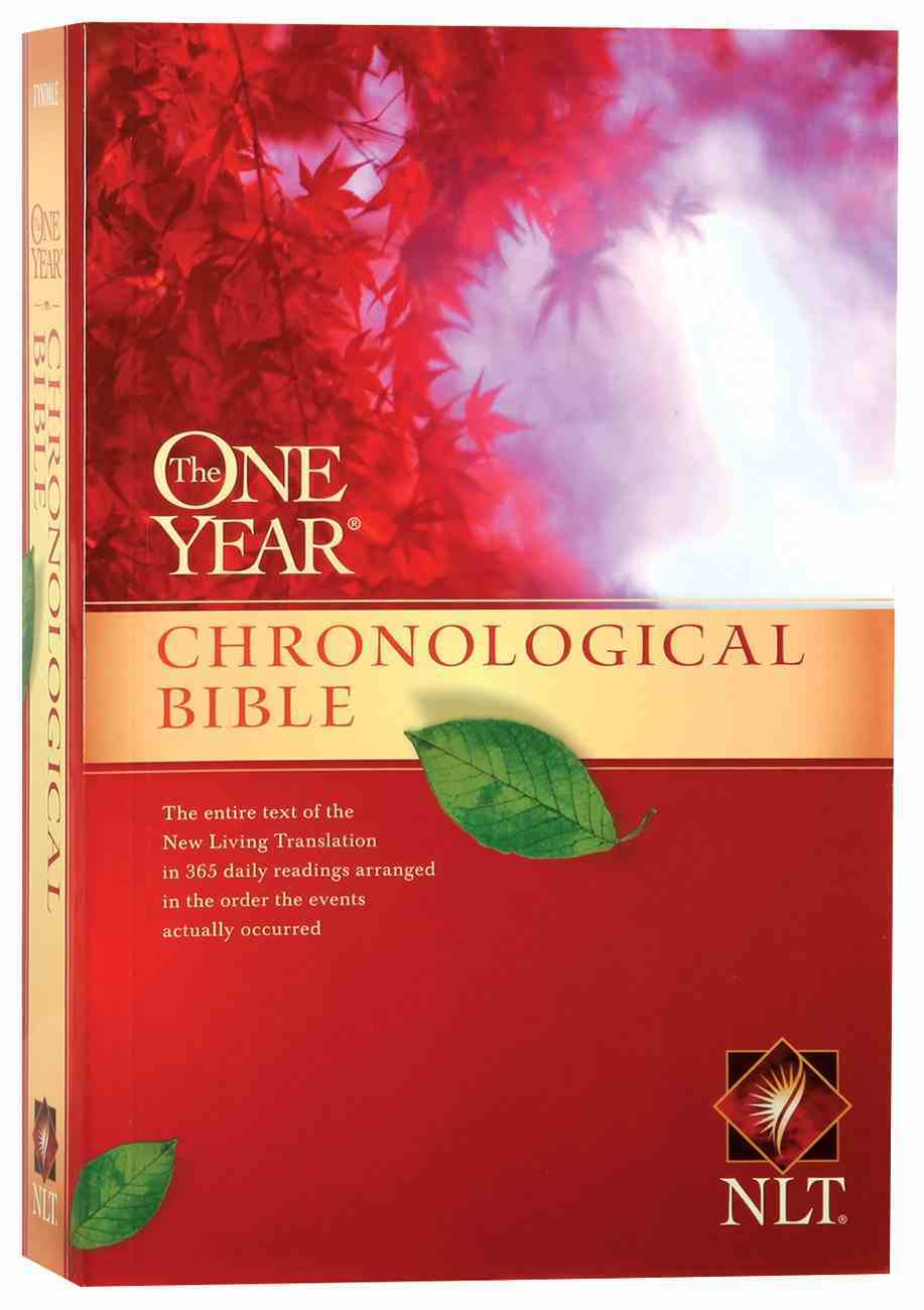 NLT One Year Chronological Bible (Black Letter Edition) (2nd Edition) Paperback
