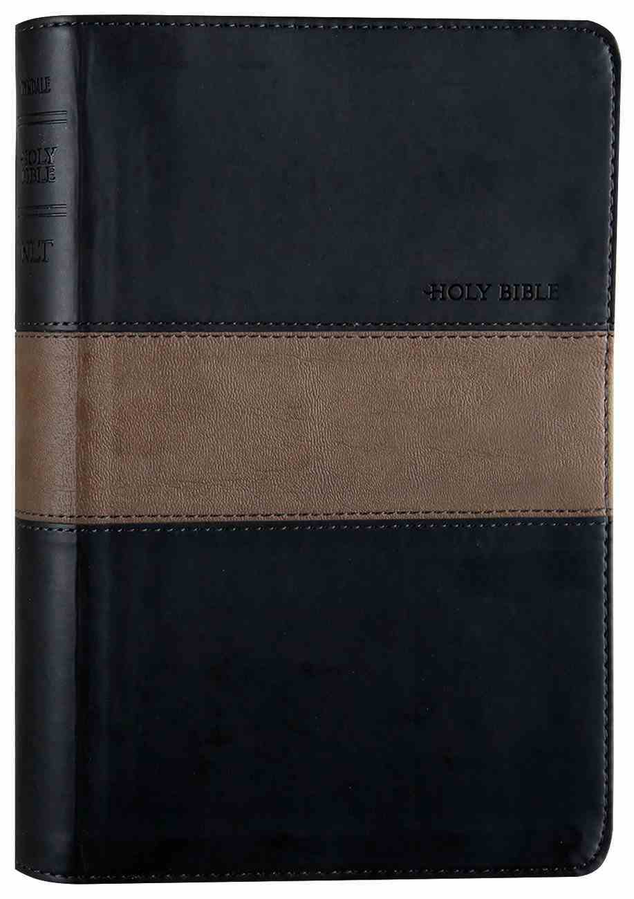 NLT Slimline Center Column Reference Black/Taupe (Red Letter Edition) Imitation Leather
