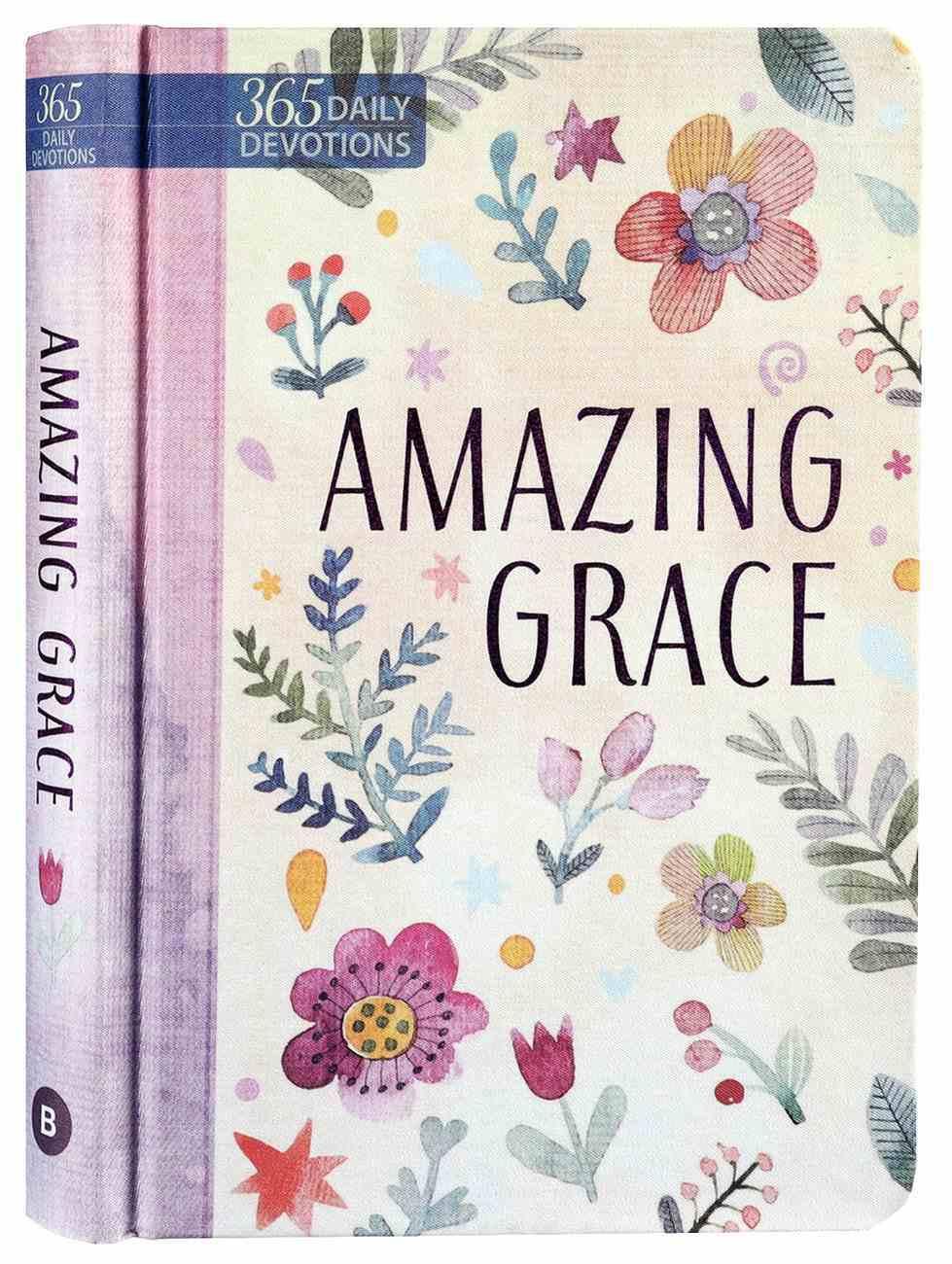 Amazing Grace: 365 Daily Devotions Imitation Leather