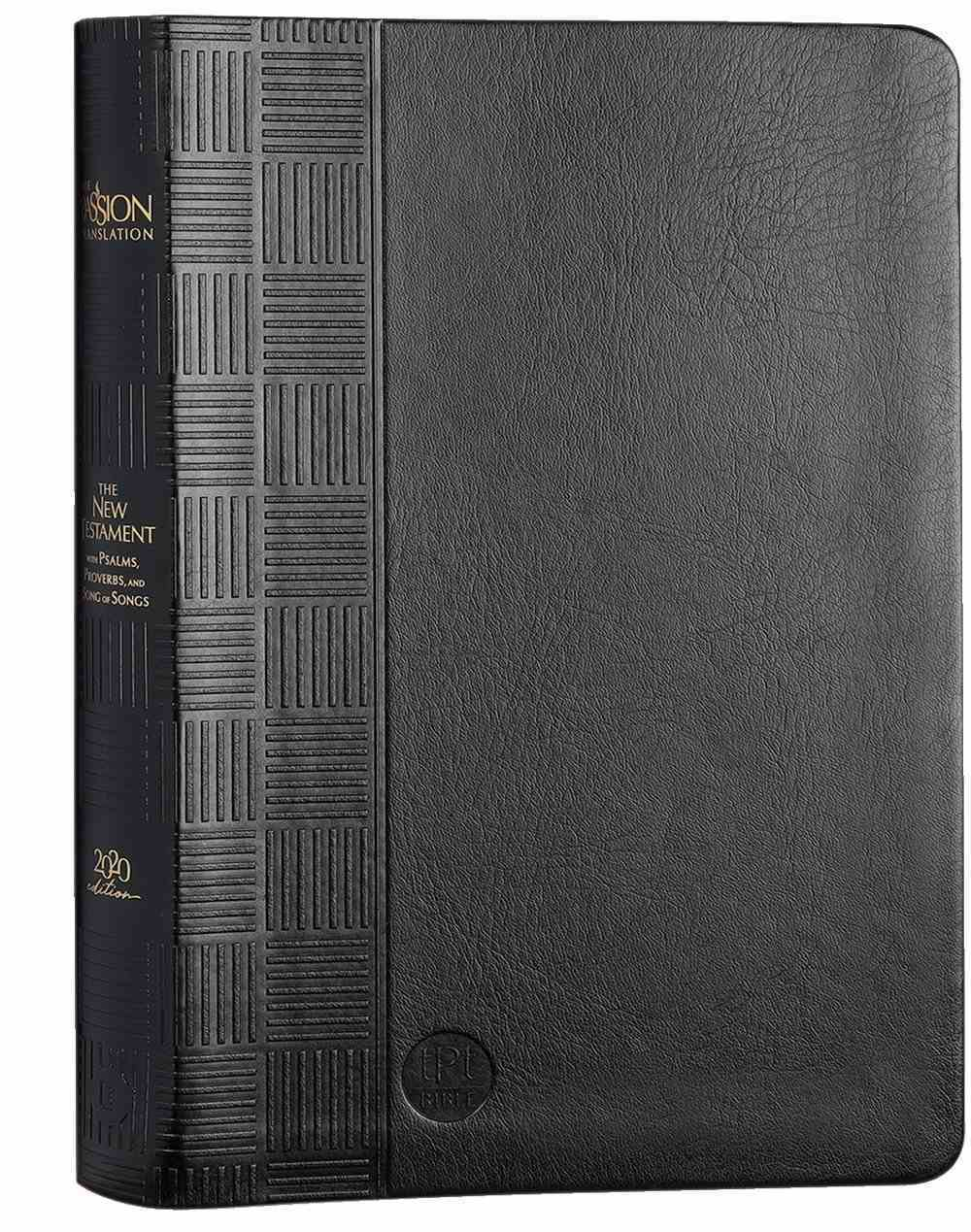TPT New Testament Black (Black Letter Edition) (With Psalms, Proverbs And The Song Of Songs) Imitation Leather