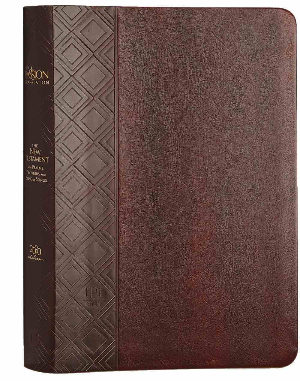 TPT New Testament Brown (Black Letter Edition) (With Psalms, Proverbs And The Song Of Songs) Imitation Leather