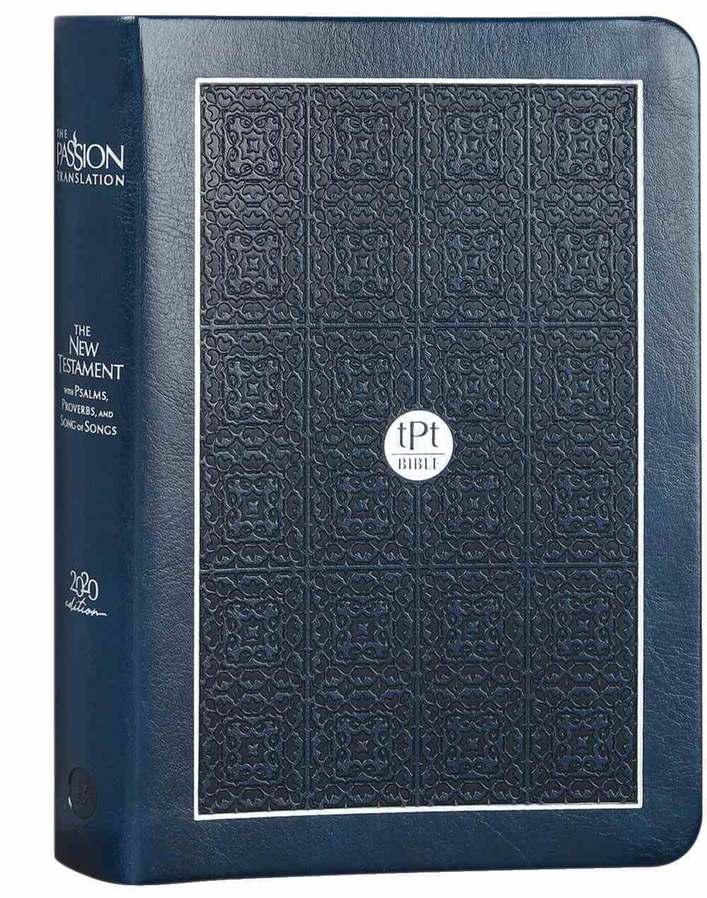 TPT New Testament Compact Navy (Black Letter Edition) (With Psalms, Proverbs And The Song Of Songs) Imitation Leather