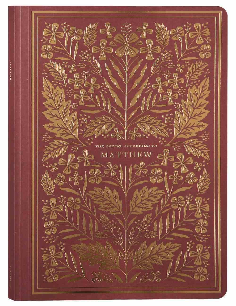 ESV Illuminated Scripture Journal Matthew (Black Letter Edition) Paperback