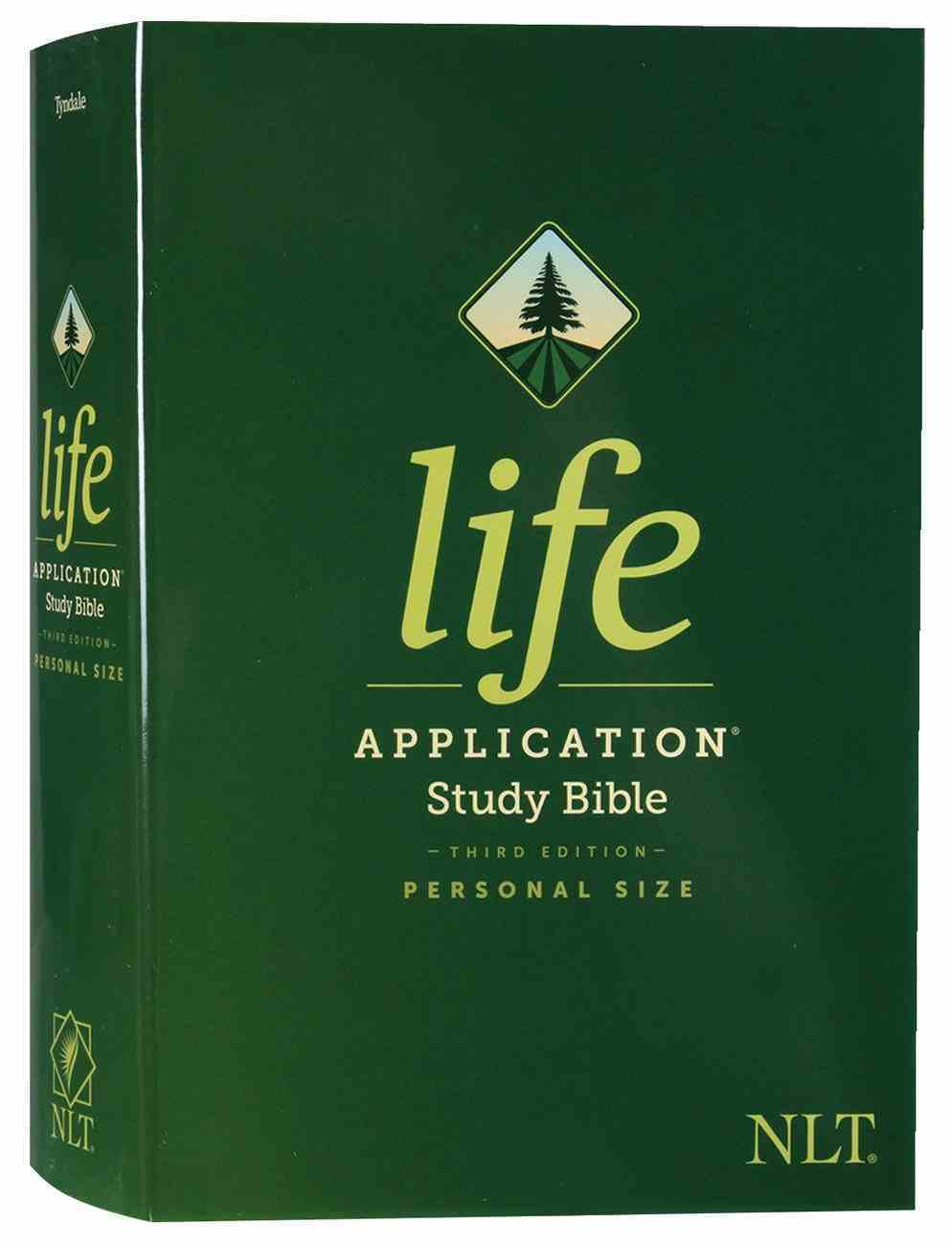 NLT Life Application Study Bible Third Edition Personal Size (Black Letter Edition) Hardback