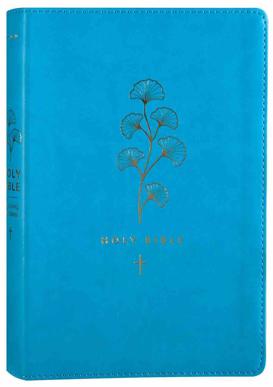 NLT Premium Gift Bible Teal (Red Letter Edition) Imitation Leather
