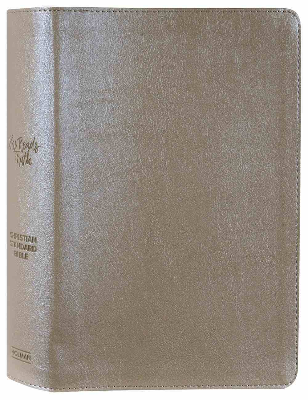 CSB She Reads Truth Bible Champagne Hardback