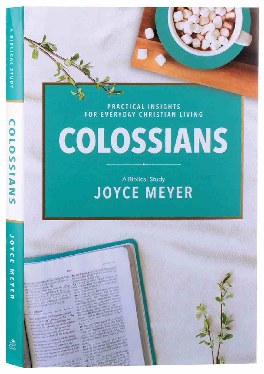 Colossians: A Biblical Study (Deeper Life Biblical Study Series) Hardback