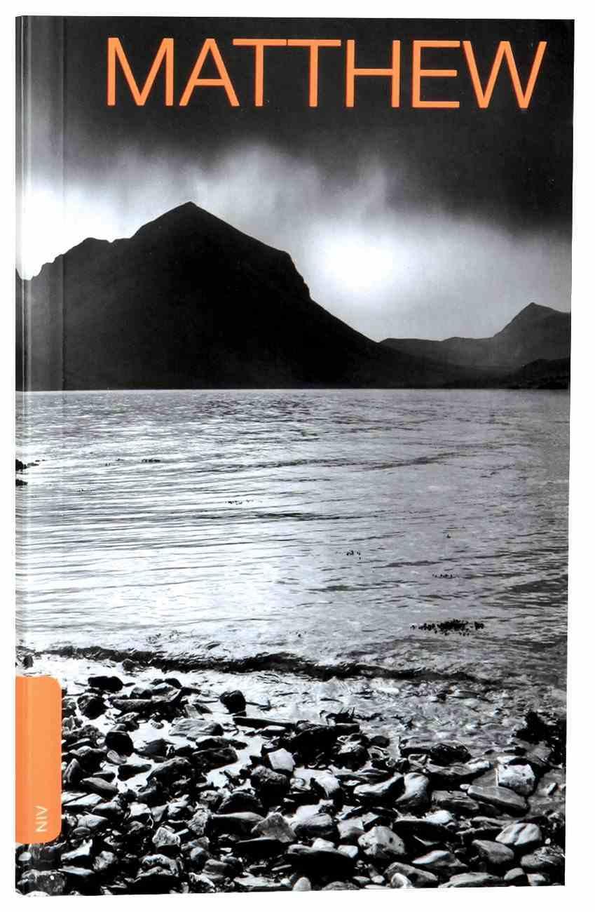 NIV Matthew's Gospel (Black Letter Edition) Paperback