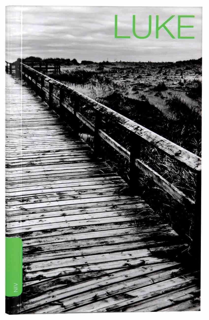 NIV Luke's Gospel (Black Letter Edition) Paperback