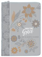 2021 12-month Planner: Amazing Grace (Gray) image