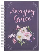 Journal: Amazing Grace, Purple Spiral
