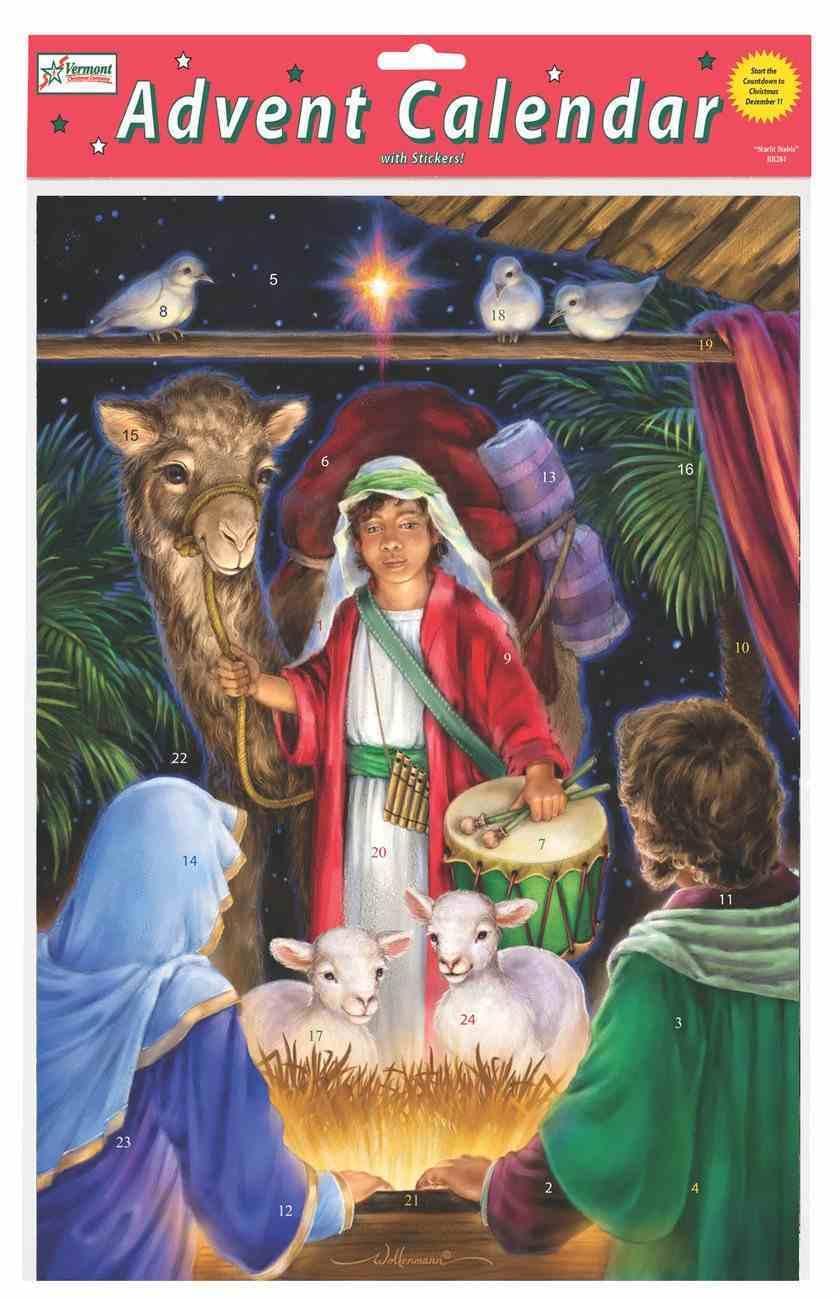 Advent Calendar: A Gift For the King, Glitter Calendar